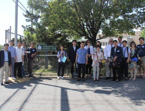 Korean Delegates Visit the Saratoga Family Inn