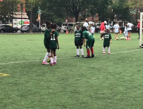 Saratoga Eagles Soar at Girls Soccer Day