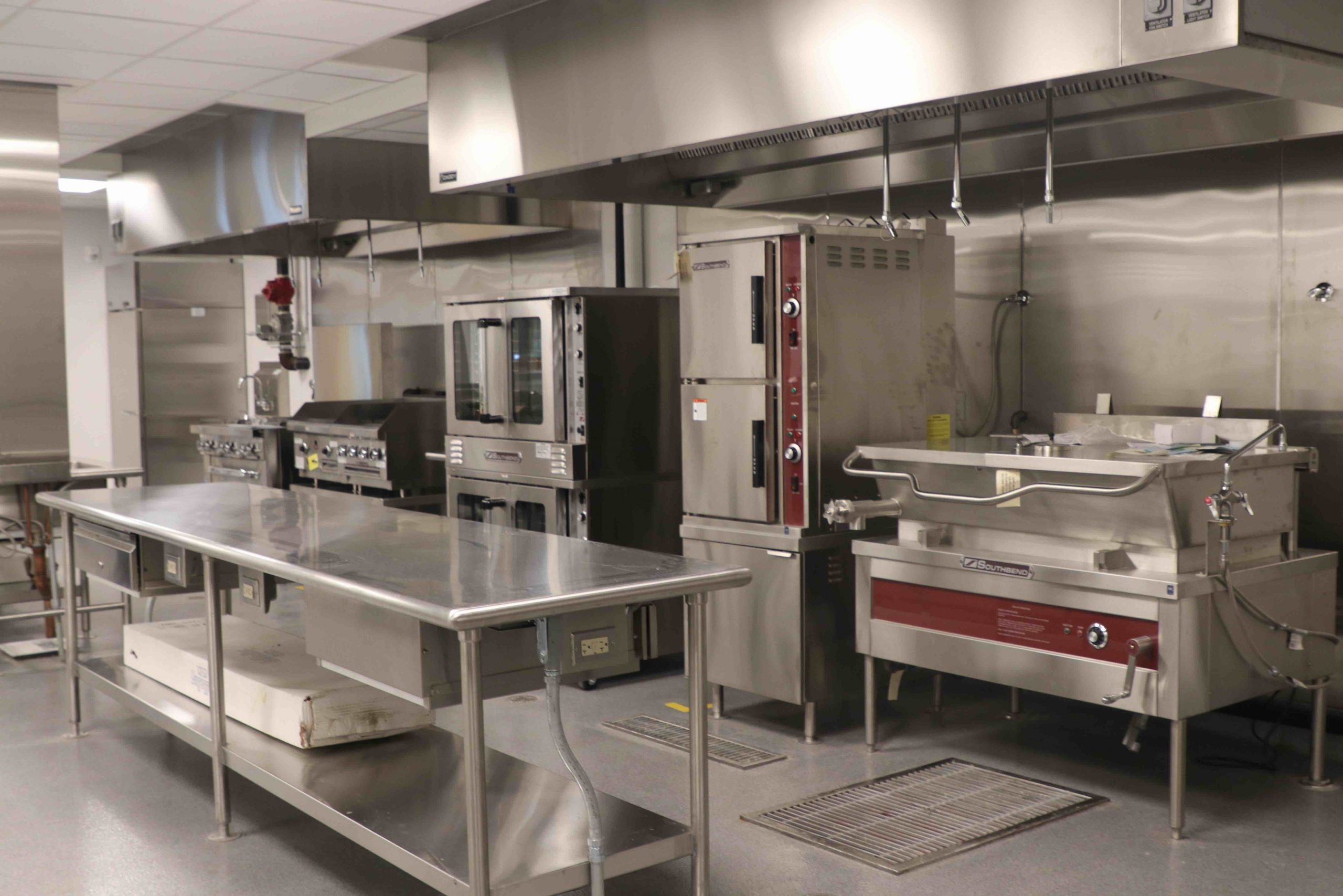 Newly-Built Teaching Kitchen